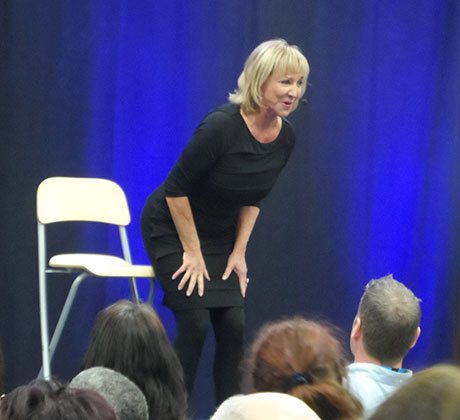 Marcia Martin on Stage