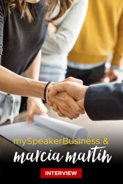 Marcia Martin & mySpeakerBusiness