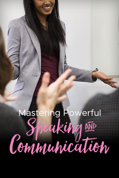Mastering Powerful Speaking & Communication With Marcia Martin